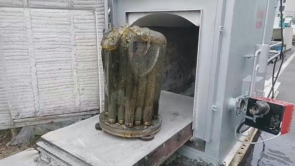 塑料滤芯 高温热解气化炉