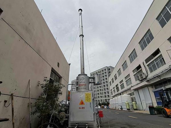 高温热解气化炉 工业垃圾焚烧炉